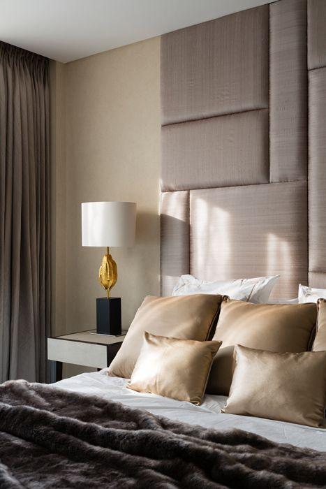 Cabeceira estofada: Conforto e delicadeza na decoração