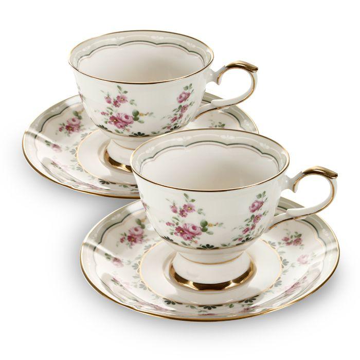 Пара чайная,1 перс, 2 пр, Цветы  2 990 руб