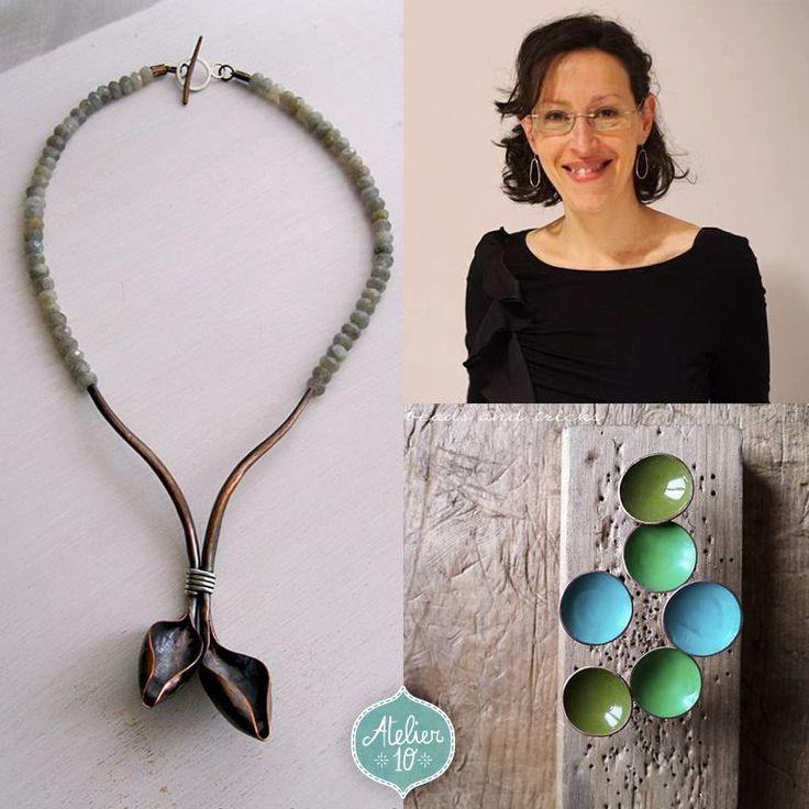 L'#HandmakersBrunch nr. 4 ci permette di presentarvi Beads and Tricks. L'intervista completa la trovate come sempre sul nostro bellissimo blog www.atelier10team.blogspot.it dove Alessia ci racconta il suo percorso creativo. Complimenti ad Alessia per la sua abilità con i metalli!