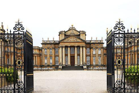 El palacio de Blenheim en Oxfordshire