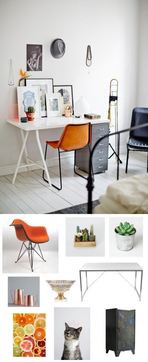 #desks #workspace #officespace #color #decor #adoredecor #nousdecor
