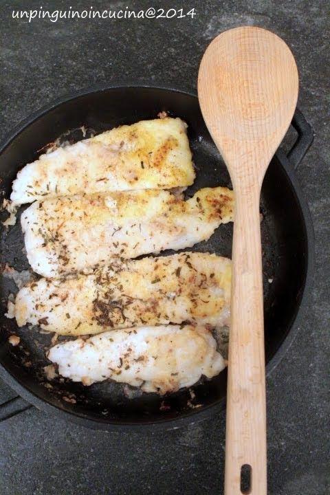 Un pinguino in cucina: Filetti di merluzzo saporiti - Tasty Cod Fillets
