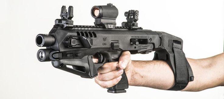Micro RONI Stab Glock 19 CAA NON NFA Pistol Carbine Conversion Kit for Glock 19, 19C, 23 & 32 - $225 (Free S/H) | Slickguns