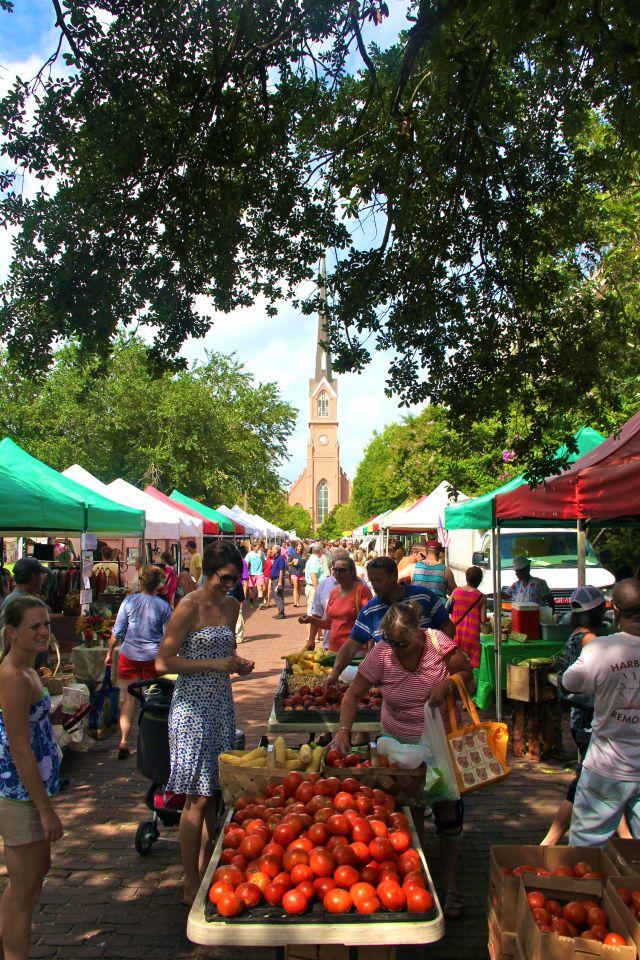 Charleston Farmer's Market, Marion Square, Sundays