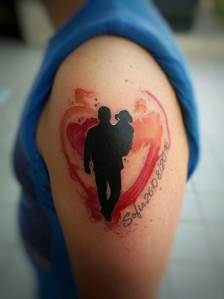 """""""Non è difficile diventare padre. Essere un padre: questo è difficile.""""  #love #roma #family #italy #tattoolove #ink #happy #instacool #boyfriends #girlfriends #Tattoo #instagood #tattoo #tattooink #tattoogirl #tattooboys #color #facebook #special #free #watercolor #father #figlio #son"""