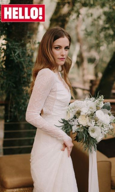 Exclusive: First look at Riley Keough's wedding dress