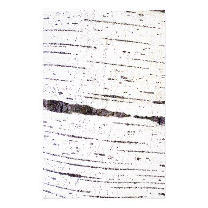Birch bark pattern flyer - pattern sample design template diy cyo customize