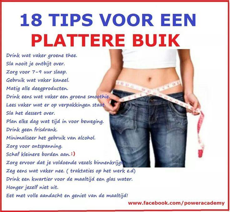 10 tips voor strakke buik