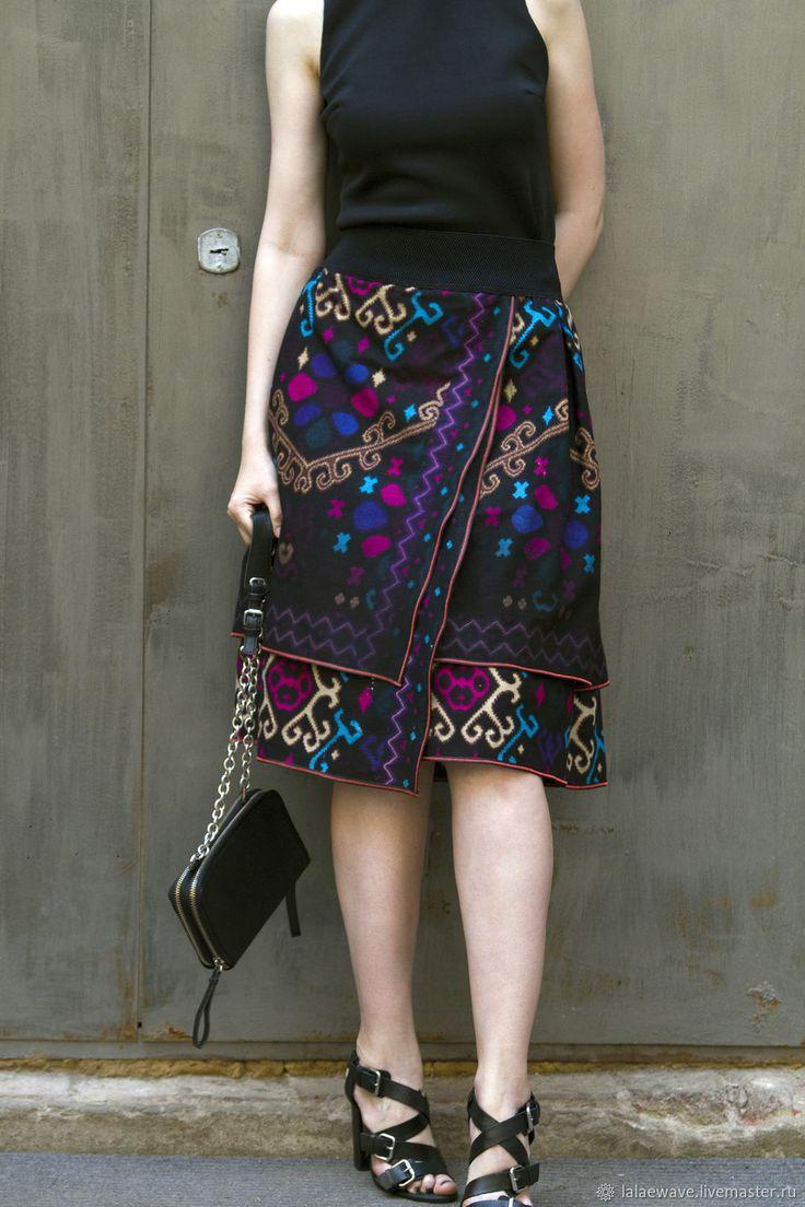 Boho skirt | Юбка бохо-шик Night Party - орнамент, юбка, юбка летняя, юбка на талии