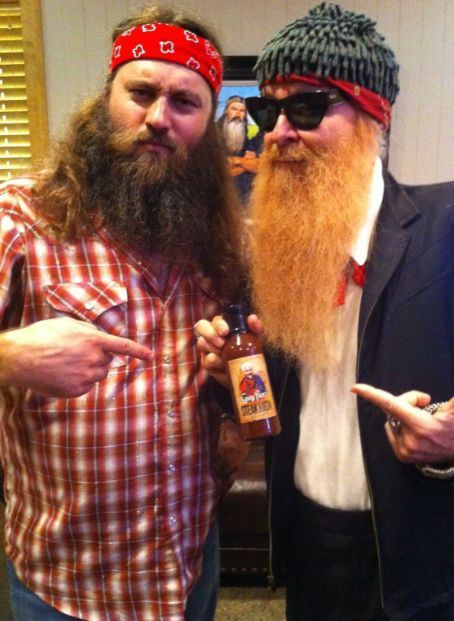 Willie Robertson and Billy Gibbons
