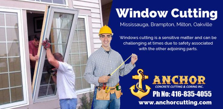 Anchor Cutting that offers premium quality of #WindowCutting #Services in #Brampton. Our employees are expertly trained to complete projects #safely, #quickly and #efficiently. Just Give us call Today At:-416-835-4055 Website:-http://www.anchorcutting.com/window-cutting-services.html #WindowCuttingServicesBRampton