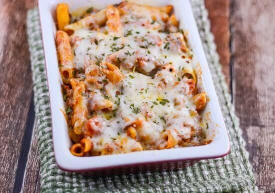 Cheesy Chicken Bacon Ranch Pasta ~ http://FlavorMosaic.com