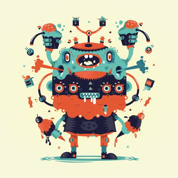 Characters and stuff! on Behance