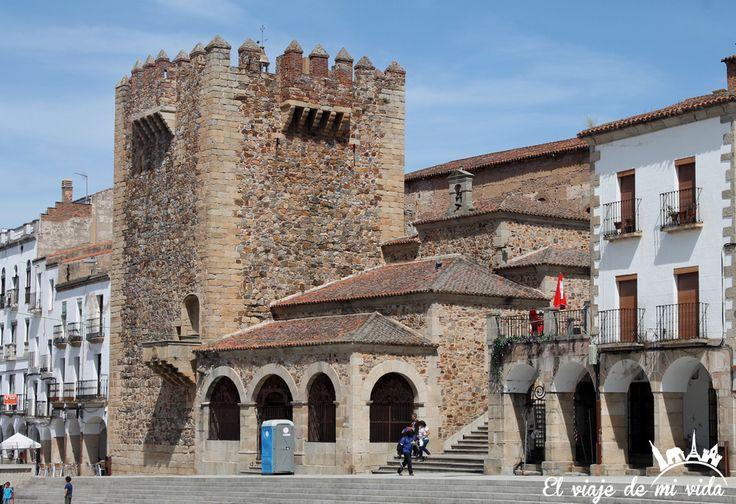 Plaza Mayor 2Caceres Extremadura España
