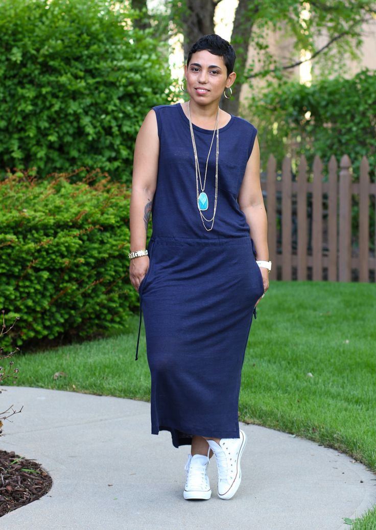 CASUAL FRIDAY GAP DRESS - Mimi G Style