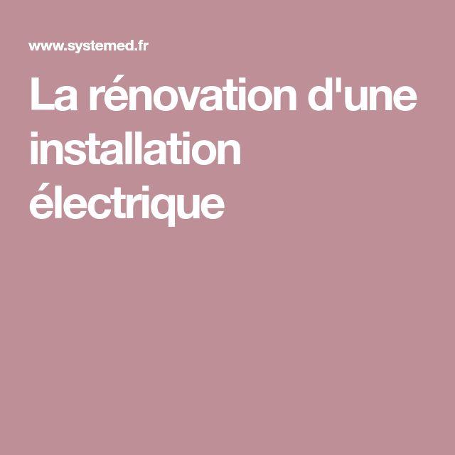 la rnovation dune installation lectrique - Refaire Installation Electrique Appartement
