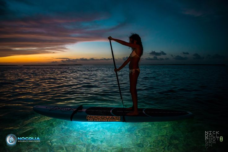 Drift NOCQUA underwater paddle board lights..how cool are these!!!