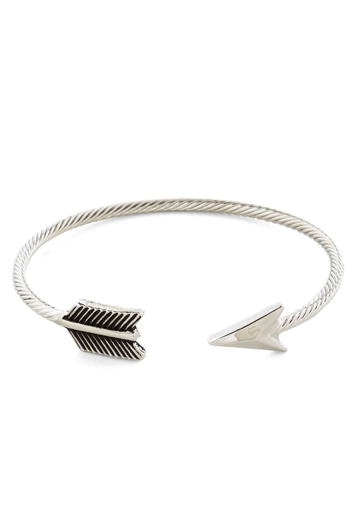 Aim for Adorable Bracelet - Silver, Solid