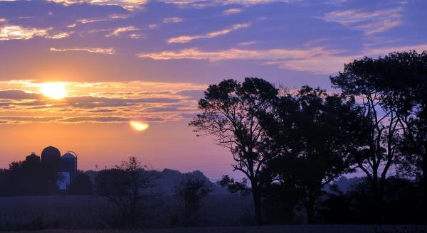 Sunrise In Indiana photograph by Brittany H.: Indiana Photographers, Indiana Sunrises