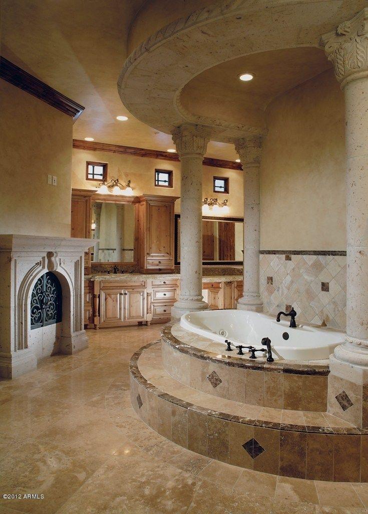House Beautiful Bathrooms: 1000+ Ideas About Tuscan Bathroom Decor On Pinterest
