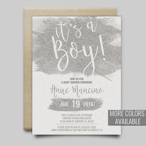 31 best baby shower invitations images on pinterest invitation set baby shower invitation its a boy baby shower invitation glitter baby shower invitation printable baby shower invitation filmwisefo Images