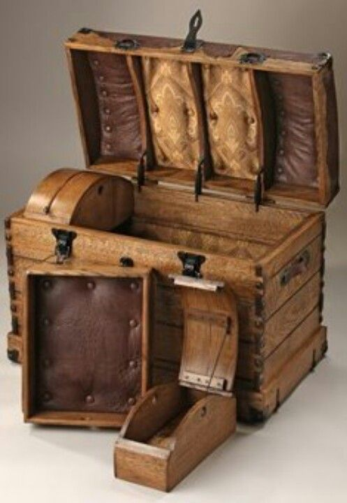 Antique trunk, absolutely gorgeous!