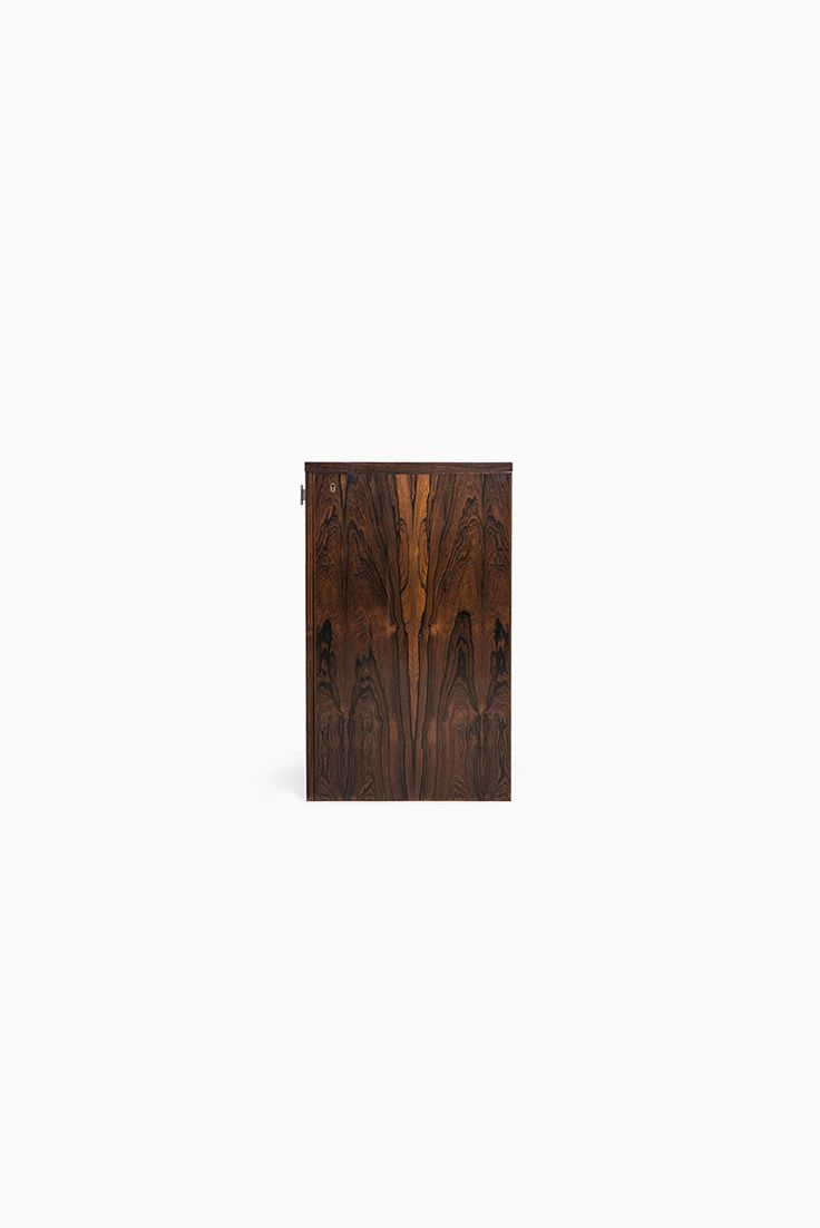 Pair of vintage danish rosewood and brushed steel side cabinets ref - Dyrlund Bar Cabinet In Rosewood Attr To Erik Buck At Studio Schalling Midcenturymodern