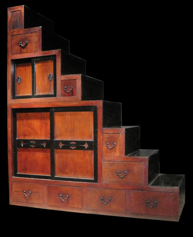 The Kaidan Dansu Or Step Chest Is One Of The Most Distinctive Tansu  Designs, Being