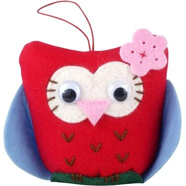 This cute crochet owl is ideal for keeping all your pins and needles close at hand. Made from acrylic with googly eyes, it is part of our great range of sewing supplies, quirky matching needle case and scissor set also available.