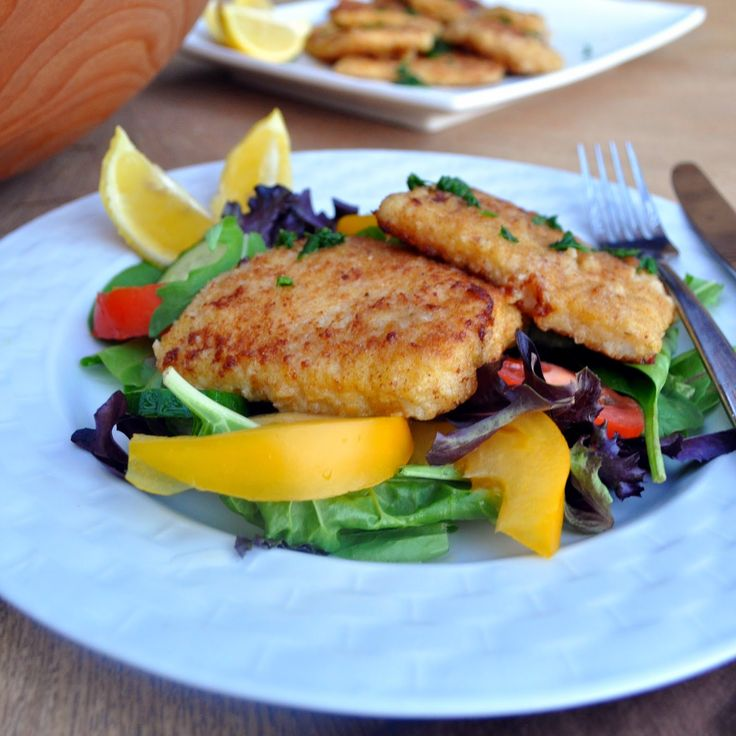 Cooking with Manuela: Quick and Easy, Crispy Calamari Steak