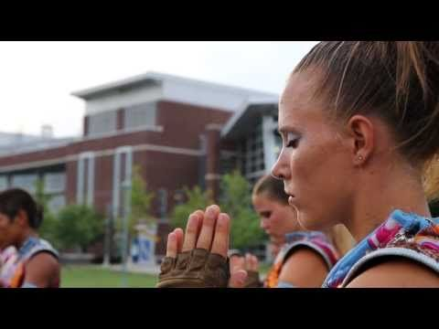 Starfish Bluecoats. So inspiring. If you are a marching band/ drum corps geek, go watch this now.