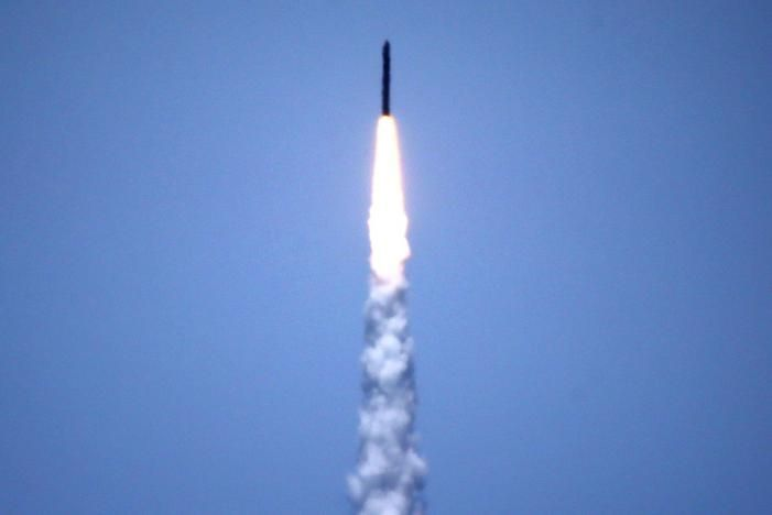 The U.S. military has begun the first missile defense test involving a simulated attack by an intercontinental ballistic missile, firing off an interceptor from Vandenberg Air Force Base in California, a Reuters witness at the base said.