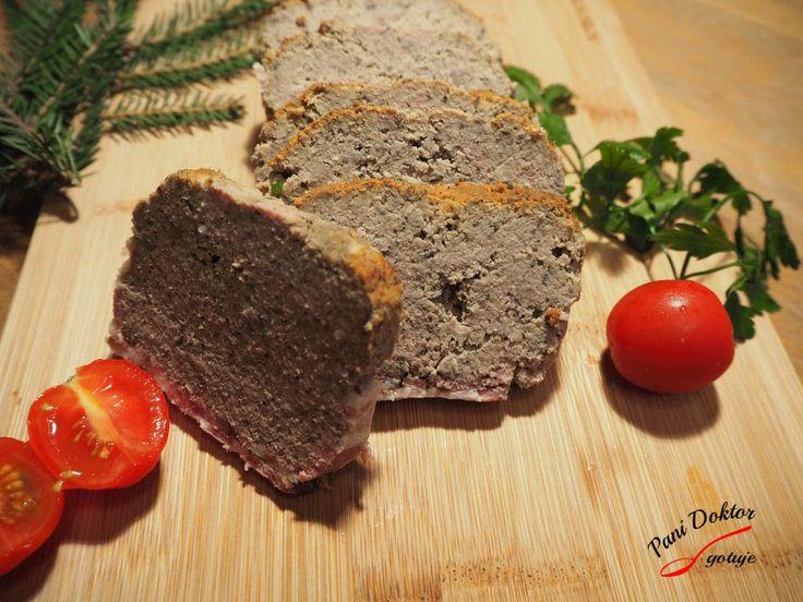 Pasztet z wieprzowego mięsa