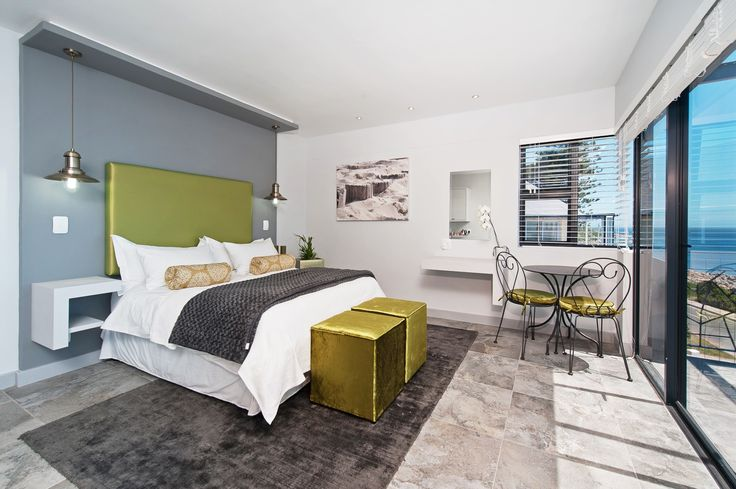 Chartreuse and Charcoal interior - Overberg Interiors