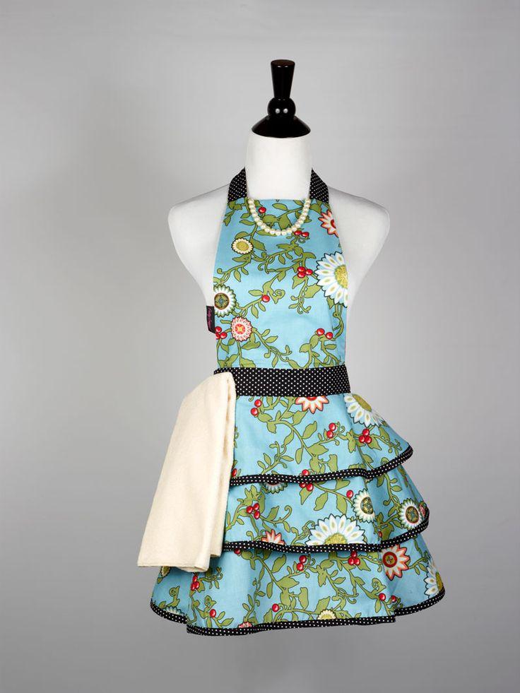how to make a cute apron