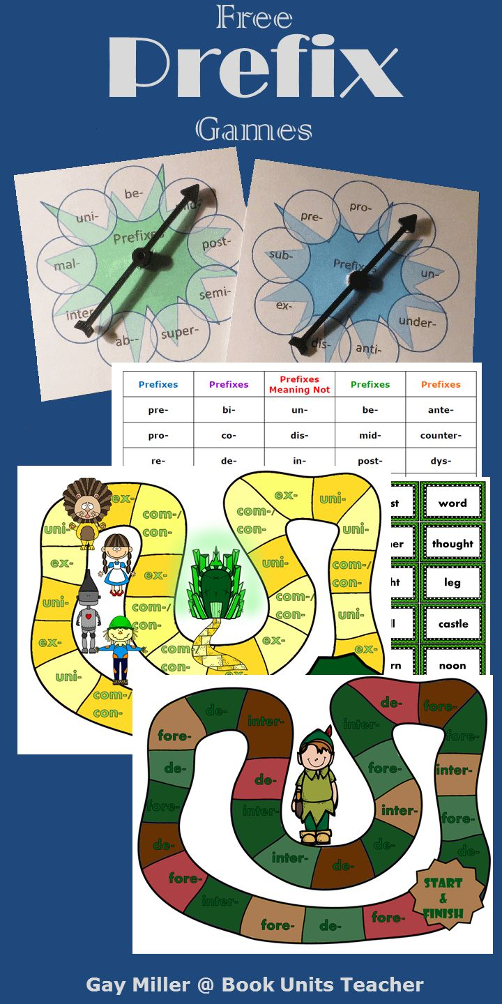 171 best Prefixes Suffixes and Root Words images on Pinterest ...