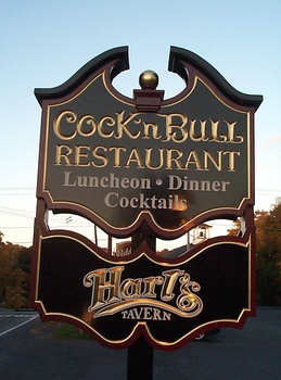 Consider, Cock bull in pedlers village you
