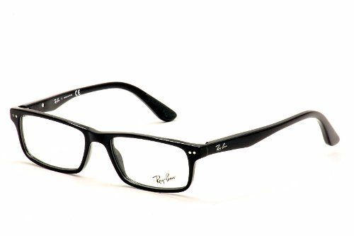 Ray-Ban Eyeglasses 5277 2000 Black RayBan Rectangle Optical Frame 52mm Ray-Ban. $79.95. Save 42%!