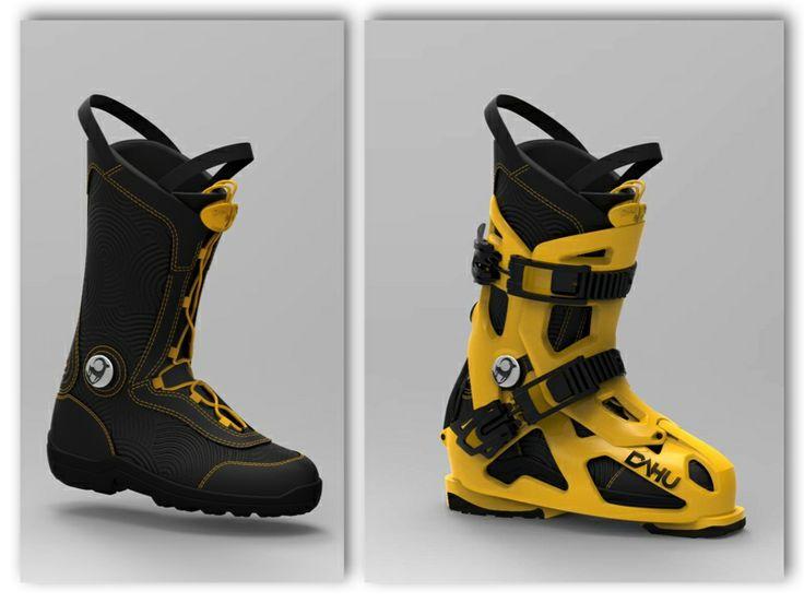 DOC.D, yellow and black, so awesome. Let's try them !  #ladyO #technicity #technicité  #skiabilité #skiabilité #skiability #polyvalence #allmountain #newgeneration #generation #revolution  #ispoaward #reddotaward #dahu #dahusports #ski #skiing #skiboots #skishoes #boots #anywhereskiboots #dahusports #enjoythelife #adventure #switzerland #missa #docd #ed #dahu #pantoufles #winter #hiver