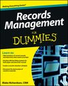 Records Management For Dummies Cheat Sheet