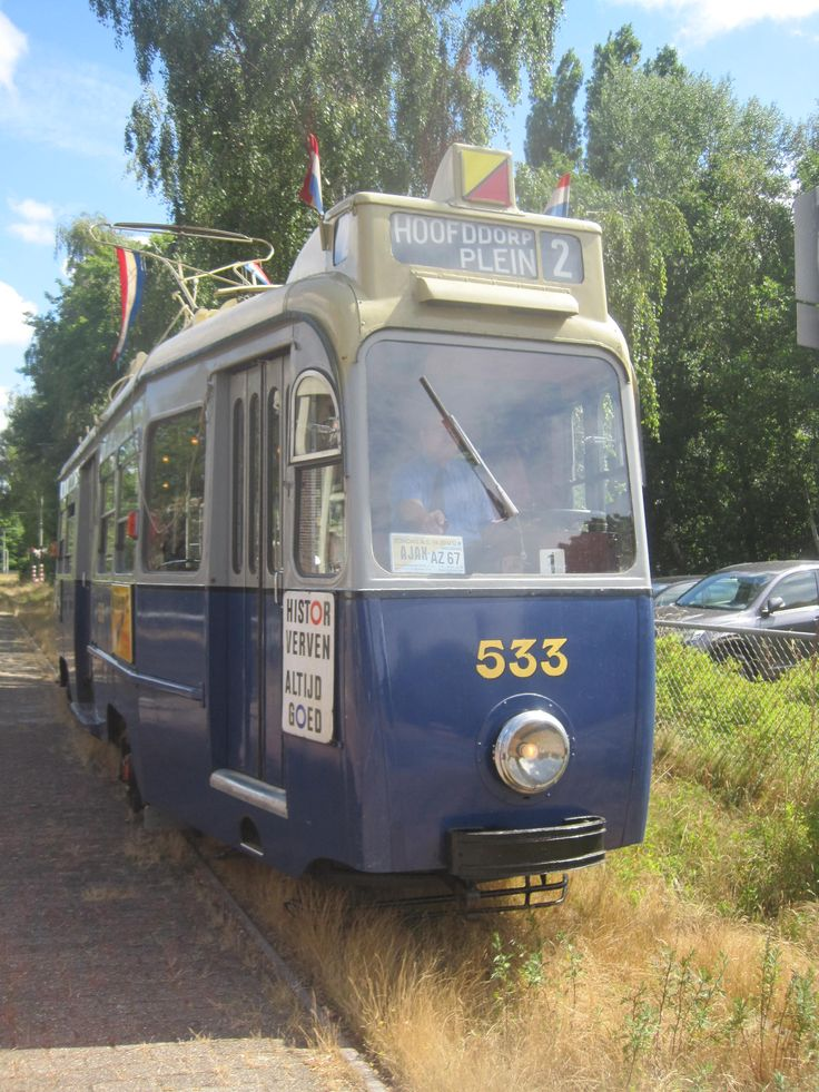 3-axle tram amsterdam In service from 1948 till 1983