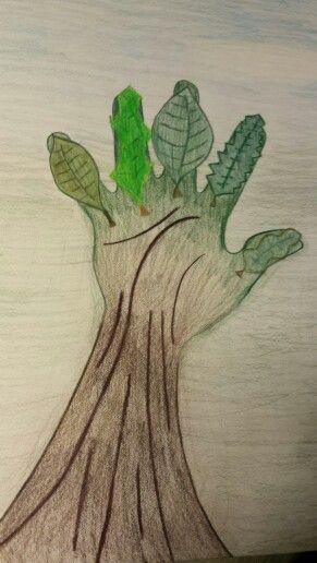Hand in Nature