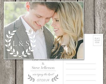 Wedding Thank You Card Template Bridesmaid by StillbrookDesigns