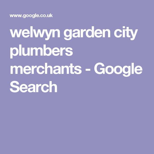 welwyn garden city plumbers merchants - Google Search