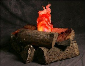 Amazon.com: Indoor Campfire an Artificial Flame Fake Fire great prop for Halloween: Everything Else