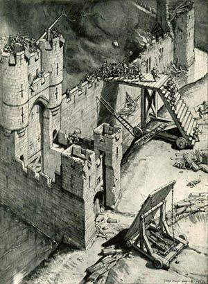 Fabulous article on castle sieges (tactics/weapons).