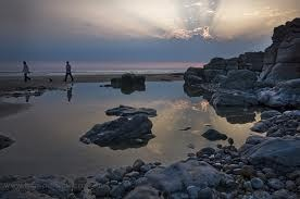 Rock Pools At Porthcawl Places Of Beauty And History Pinterest Rock Pools And Wales