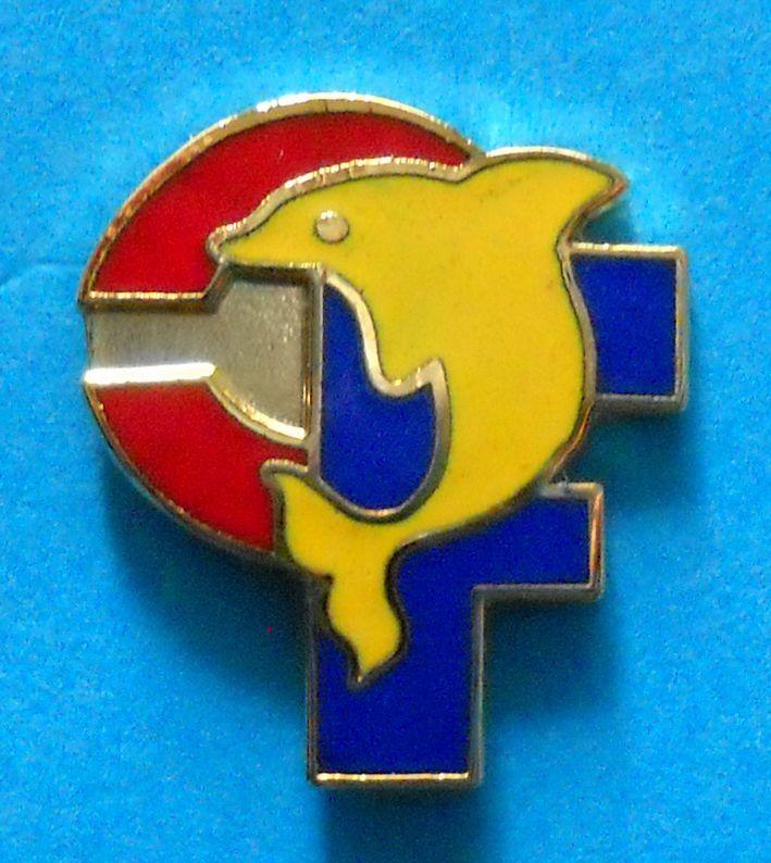 DISTINTIVO SPILLA PIN BADGE F.C. TARANTO CALCIO - cod. 430