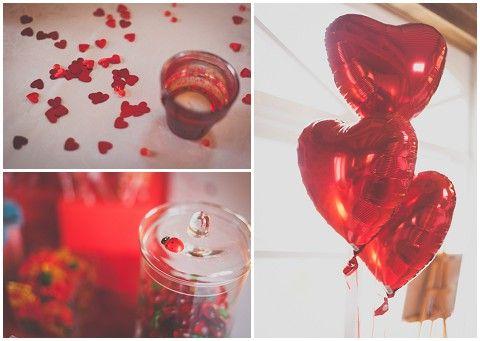 red themed wedding © MADfotos