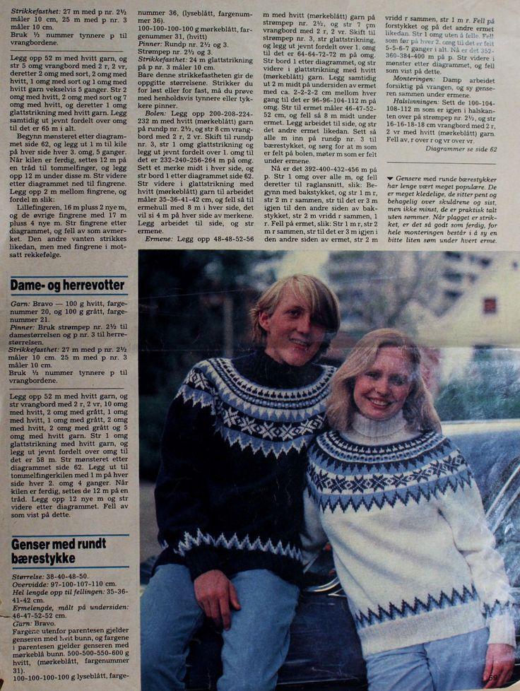 Mønsteret i Hjemmet 1981.